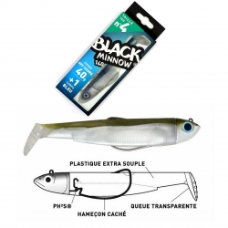 leurres black minnow 140