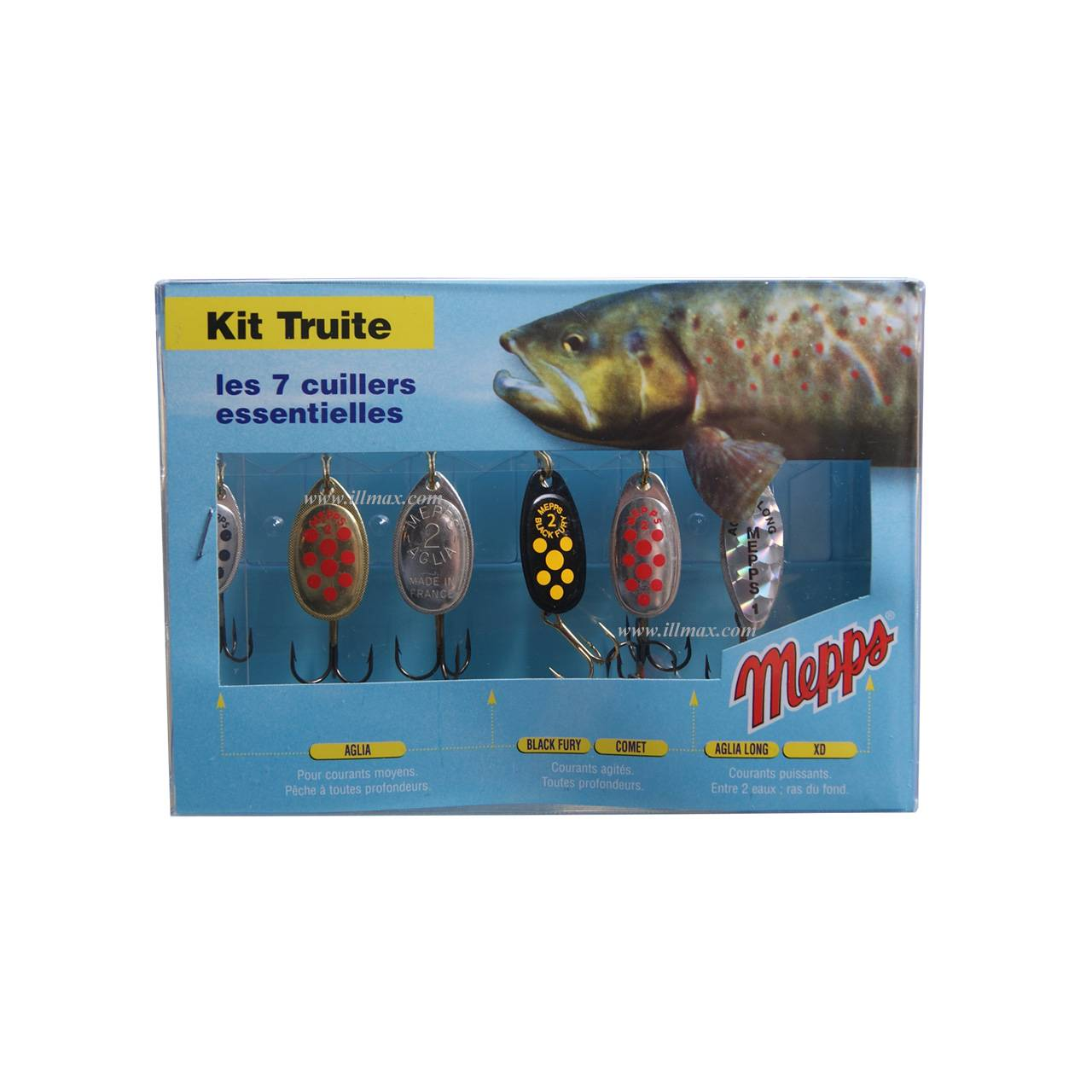 kit peche truite