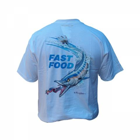 TEE-SHIRTS  PECHE AFTCO Fast food / Mer