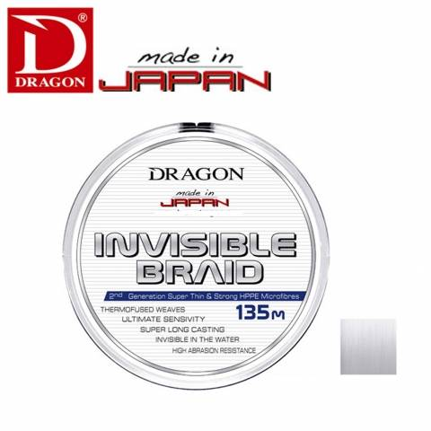 TRESSE DRAGON INVISIBLE 135m / Articles de Peche