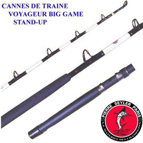 CANNE VOYAGEUR 20/30lbs STAND UP  P.SEYLER / Moulinets & Cannes